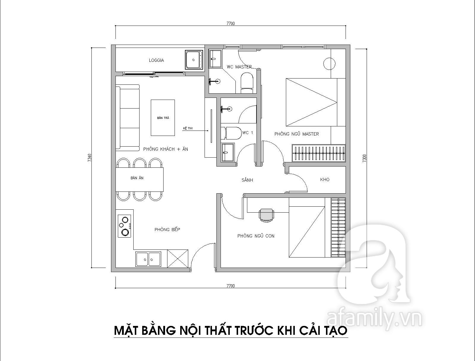 Kiến trúc sư tư vấn thiết kế cho phòng ngủ căn hộ 54m² với chi phí 15 triệu - Ảnh 2.