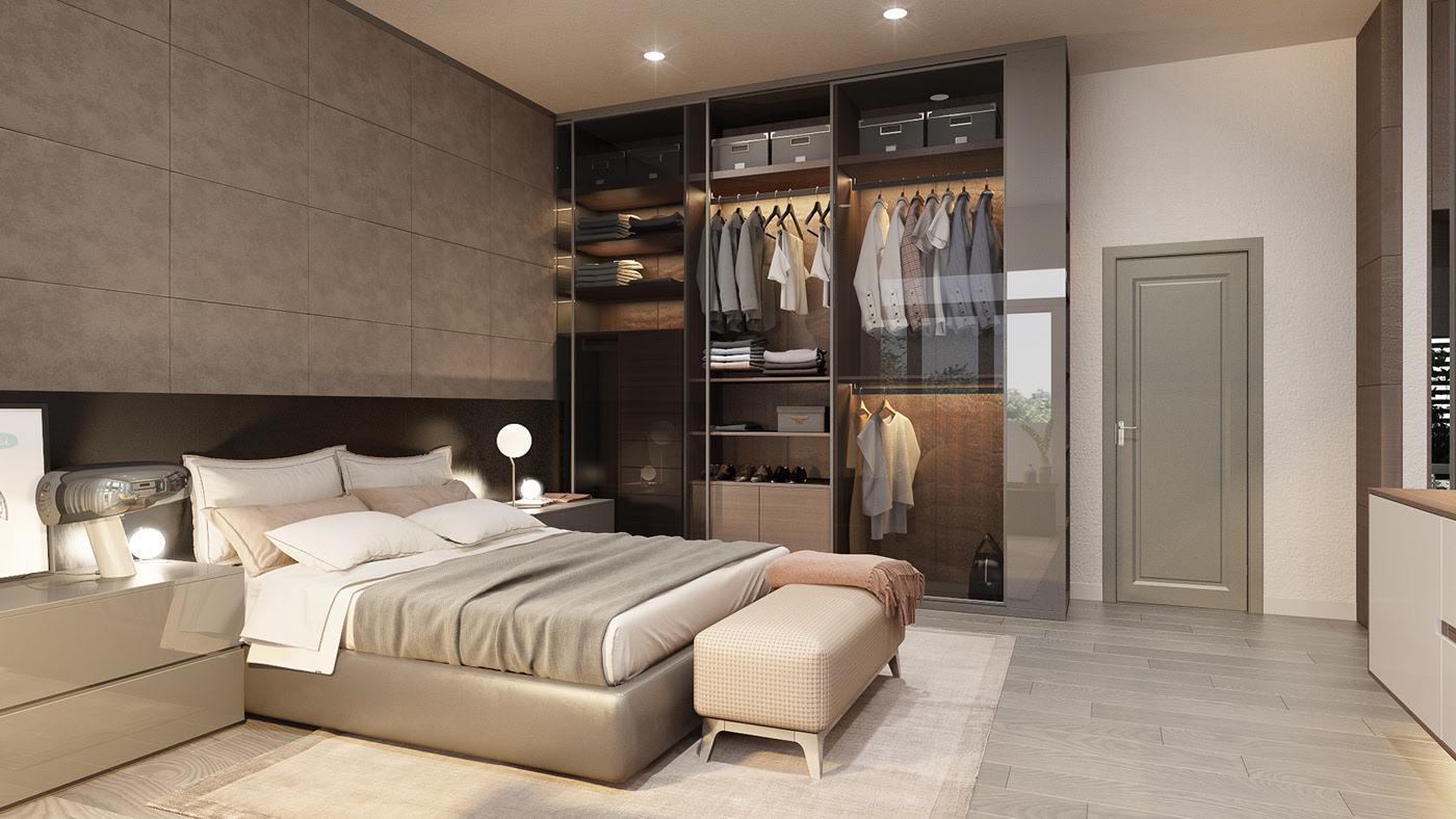 Kiến trúc sư tư vấn thiết kế cho phòng ngủ căn hộ 54m² với chi phí 15 triệu - Ảnh 7.