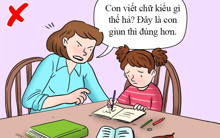 Biết được 3 lý do này, cha mẹ sẽ thôi không còn ngồi kèm con học mỗi tối