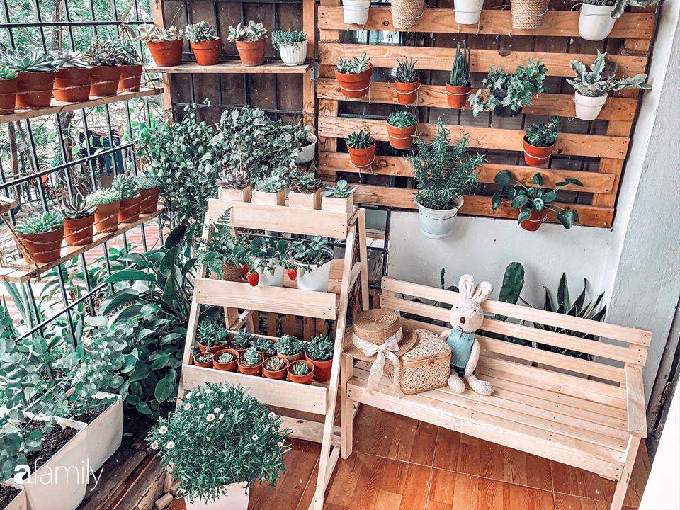 Cải tạo ban công tập thể chỉ 6m² thành vườn cây cùng góc thư giãn tuyệt đẹp cho gia đình ở Hà Nội - Ảnh 10.