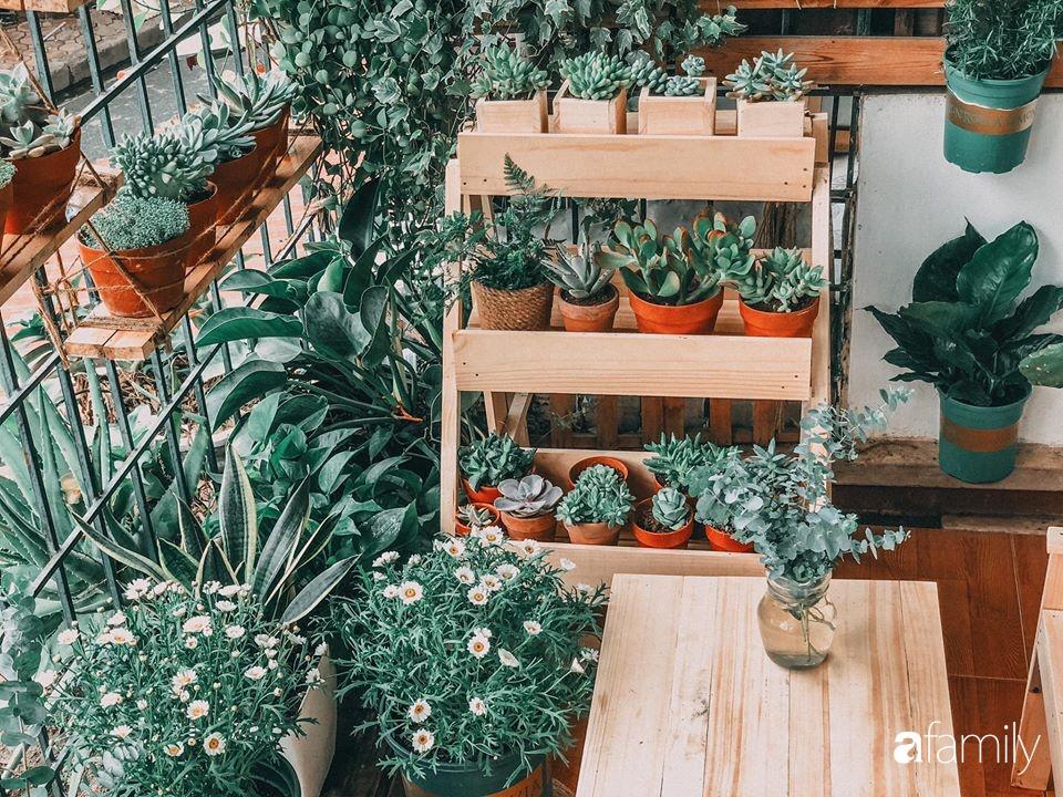 Cải tạo ban công tập thể chỉ 6m² thành vườn cây cùng góc thư giãn tuyệt đẹp cho gia đình ở Hà Nội - Ảnh 9.