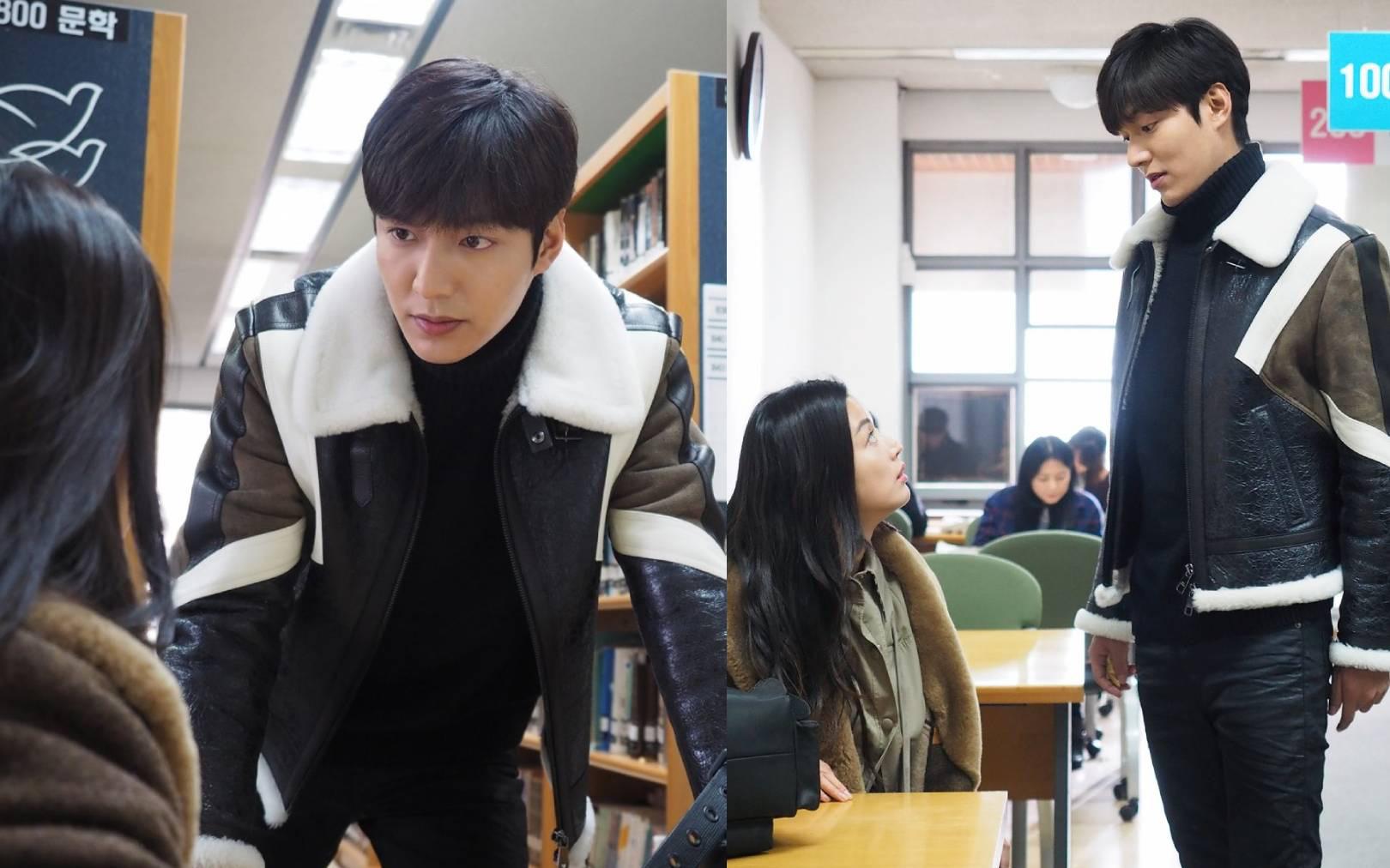 Lee Min Ho đi thư viện nhưng mải nhìn Kim Go Eun đắm đuối, thần thái ngút ngàn khiến ai cũng trầm trồ