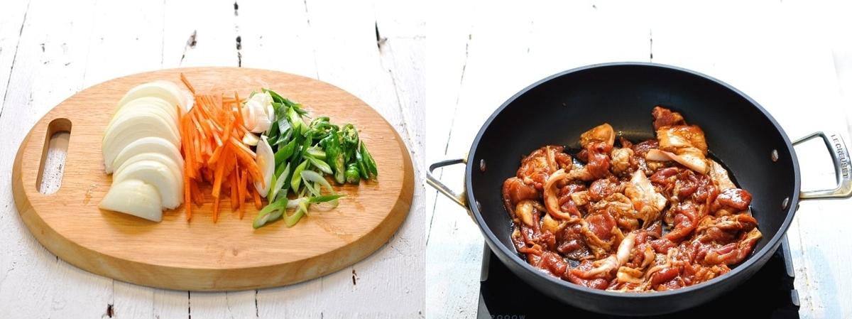 Học người Hàn làm thịt xào vừa nhanh vừa ngon - Ảnh 3.