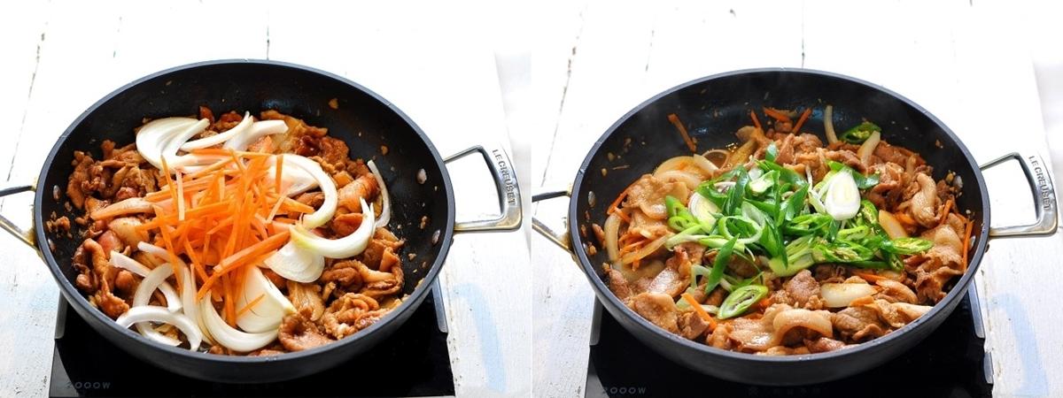 Học người Hàn làm thịt xào vừa nhanh vừa ngon - Ảnh 4.