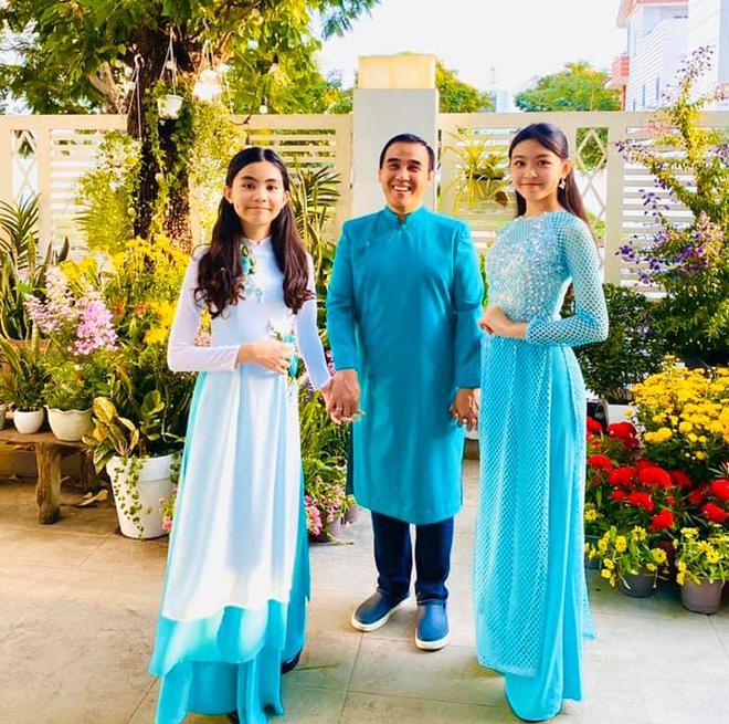 """Các con của Quyền Linh ngày ấy - bây giờ: Mới 15 tuổi đã xinh như hoa hậu, nhà giàu nhưng được bố dạy theo cách """"chẳng giống ai"""" - Ảnh 2."""