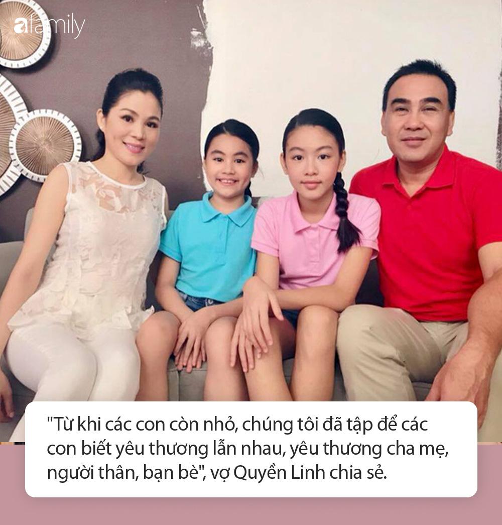 """Các con của Quyền Linh ngày ấy - bây giờ: Mới 15 tuổi đã xinh như hoa hậu, nhà giàu nhưng được bố dạy theo cách """"chẳng giống ai"""" - Ảnh 6."""