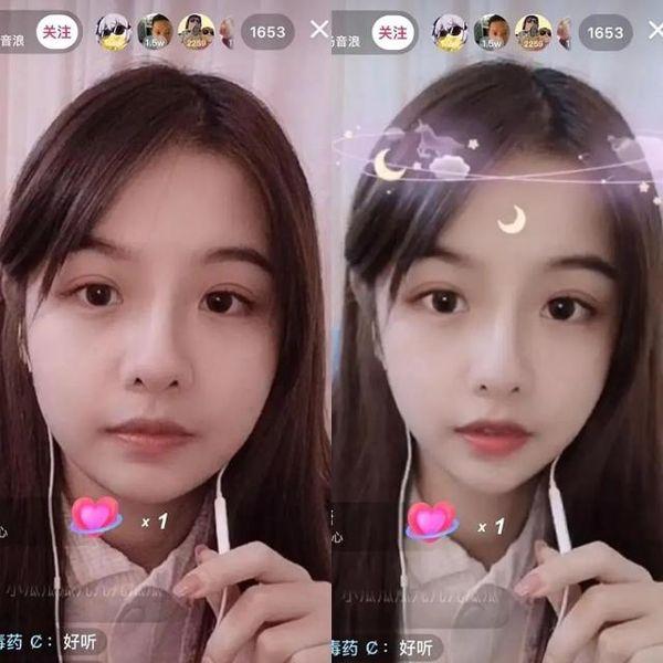 """Khi các nữ thần triệu view của Trung Quốc """"lỡ"""" lộ mặt thật trên livestream: Người được khen mặt mộc xinh xắn, kẻ mạnh mẽ phản pháo lại dư luận - Ảnh 3."""