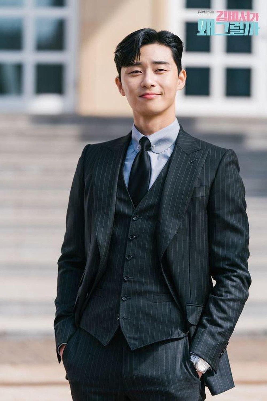 Ông chủ Danbam Park Seo Joon đúng là nam thần sân bay: Lúc như CEO đã giàu còn soái, khi đi dép xỏ ngón cũng ngầu như catwalk - Ảnh 1.