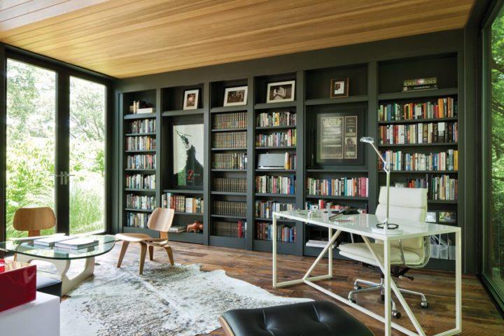 Ngôi nhà bốn bề là vườn cây xanh mát lý tưởng dành cho những ai yêu thích đọc sách - Ảnh 5.