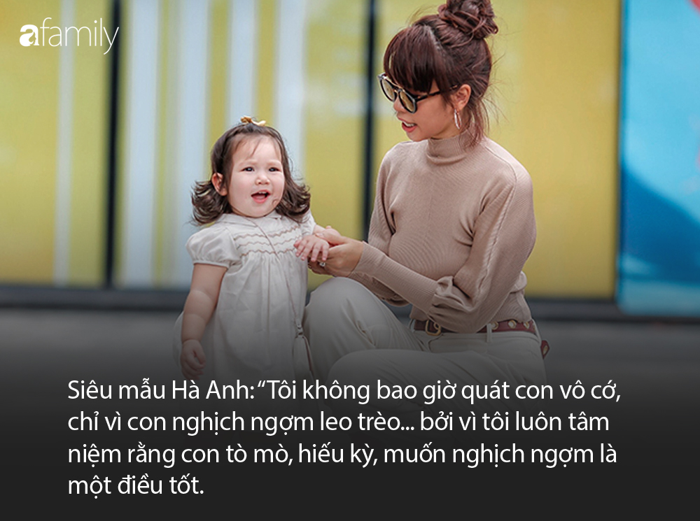 """Ai cũng thấy siêu mẫu Hà Anh nói chuyện rất nhẹ nhàng với con trong từng clip, nhưng """"sự thật"""" phía sau câu chuyện  - Ảnh 3."""