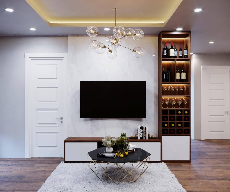 Tư vấn thiết kế nội thất căn hộ chung cư với diện tích (83m²) - Ảnh 4.