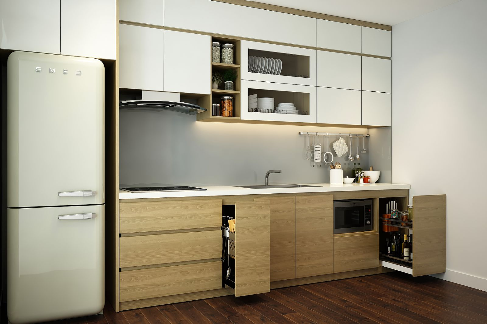Tư vấn thiết kế nội thất căn hộ chung cư với diện tích (83m²) - Ảnh 8.