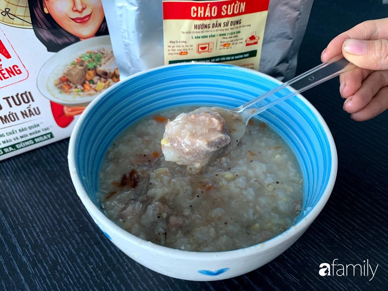 Ăn thử cháo sườn nguyên miếng Chinsu: Giá đắt gấp 7 lần cháo sườn ăn liền, liệu có xứng đáng - Ảnh 8.