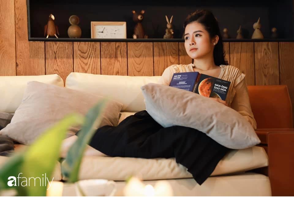 Ngắm không gian sống thư giãn cuối tuần của nữ MC Hải Vân trong căn hộ cao cấp 120m² ngay giữa lòng thành phố  - Ảnh 3.