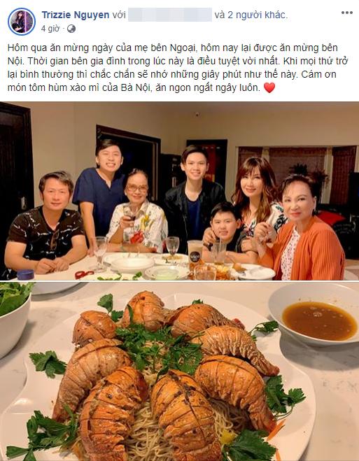 Chỉ với hành động này, vợ cũ Bằng Kiều đã khẳng định dù ly hôn nhưng chồng cũ vẫn là gia đình của mình - Ảnh 2.