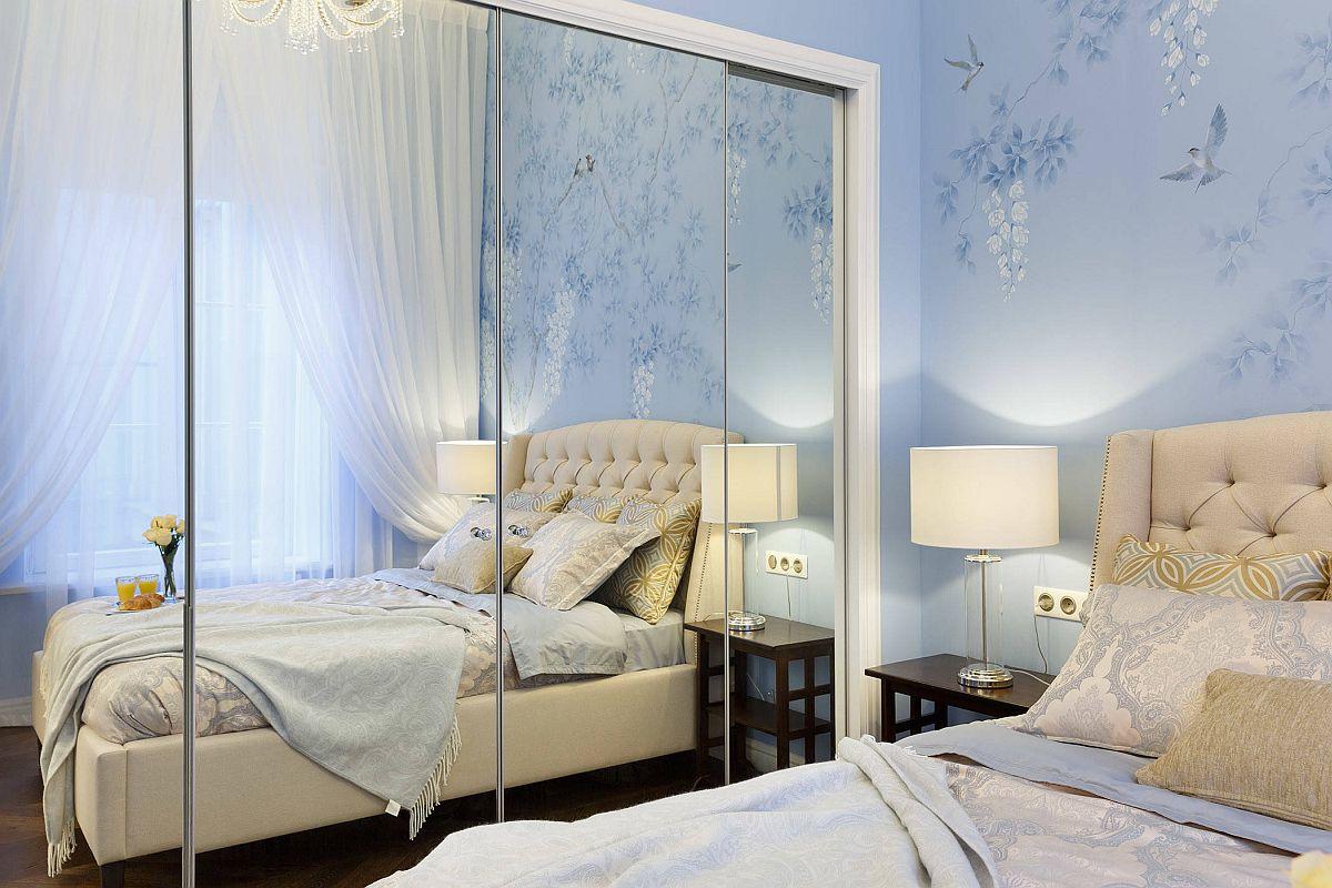 Nhân đôi diện tích dễ dàng cho phòng ngủ nhỏ nhờ sử dụng gương thông minh - Ảnh 1.