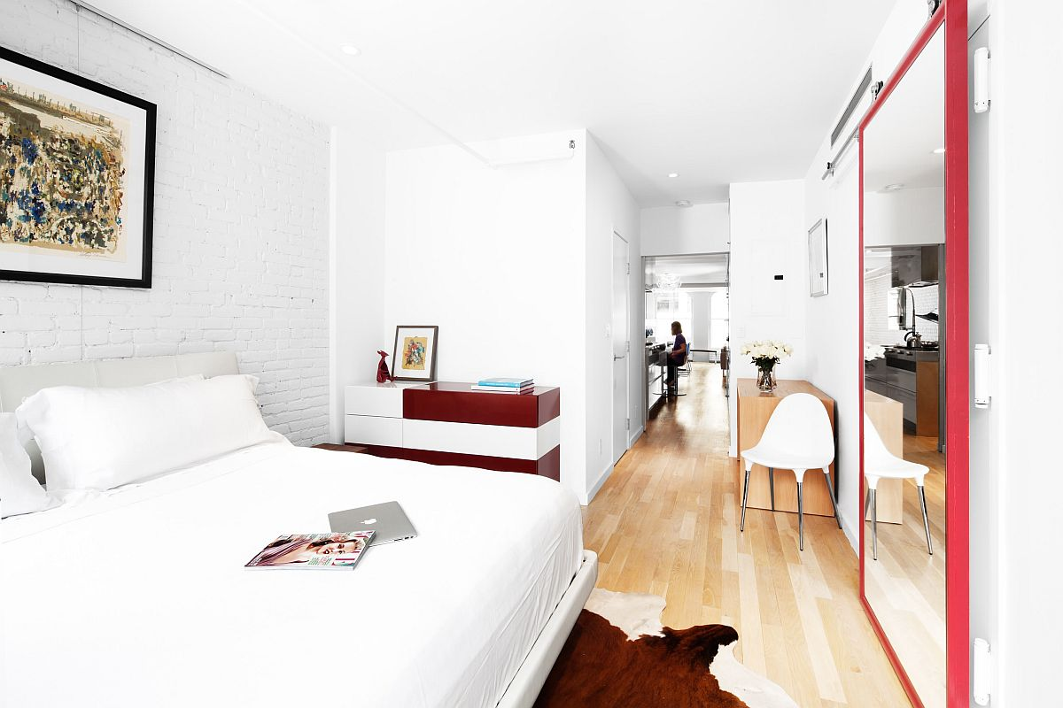 Nhân đôi diện tích dễ dàng cho phòng ngủ nhỏ nhờ sử dụng gương thông minh - Ảnh 7.