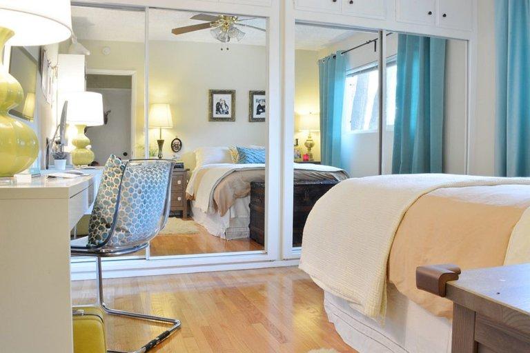 Nhân đôi diện tích dễ dàng cho phòng ngủ nhỏ nhờ sử dụng gương thông minh - Ảnh 8.