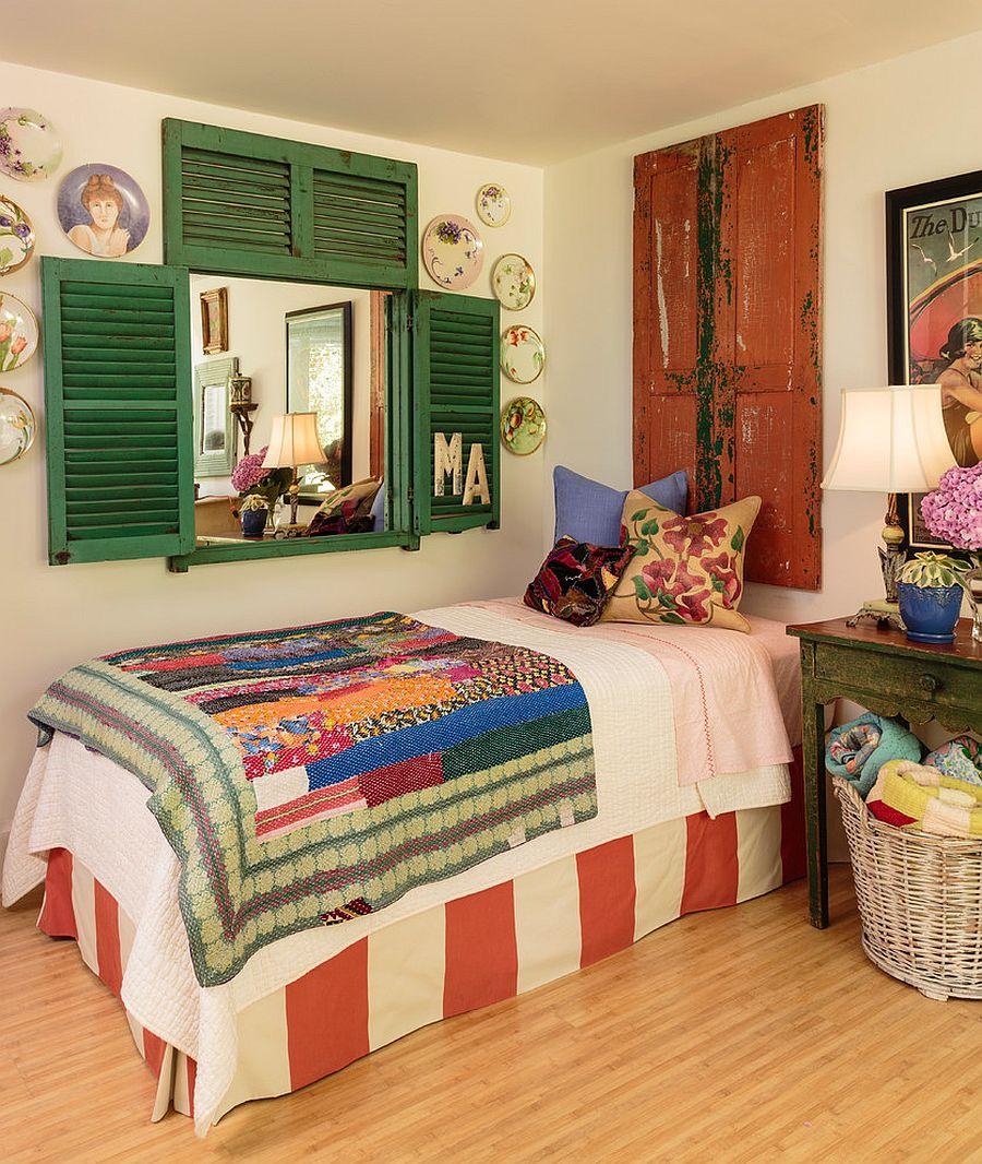 """Những căn phòng ngủ nhỏ đẹp """"thần thái"""" nhờ cách kết hợp màu sắc táo bạo - Ảnh 2."""