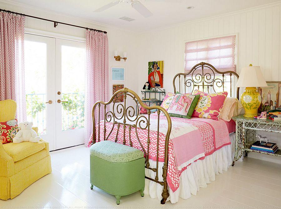 """Những căn phòng ngủ nhỏ đẹp """"thần thái"""" nhờ cách kết hợp màu sắc táo bạo - Ảnh 3."""