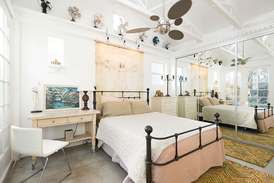 """Những căn phòng ngủ nhỏ đẹp """"thần thái"""" nhờ cách kết hợp màu sắc táo bạo - Ảnh 4."""