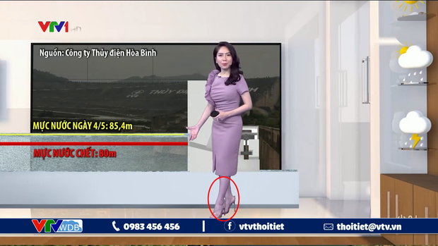 """Sự cố """"tím lịm người"""" của BTV thời tiết ngày hôm qua chưa là gì với cả loạt hình ảnh dở khóc dở cười trên sóng truyền hình trước kia - Ảnh 1."""
