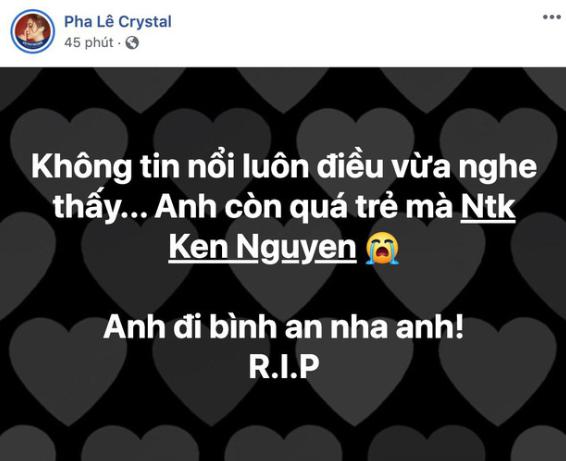 Nhà thiết kế nổi tiếng đột ngột qua đời tuổi 41, Hari Won, Ngô Kiến Huy và dàn sao Việt bàng hoàng thương xót - Ảnh 4.