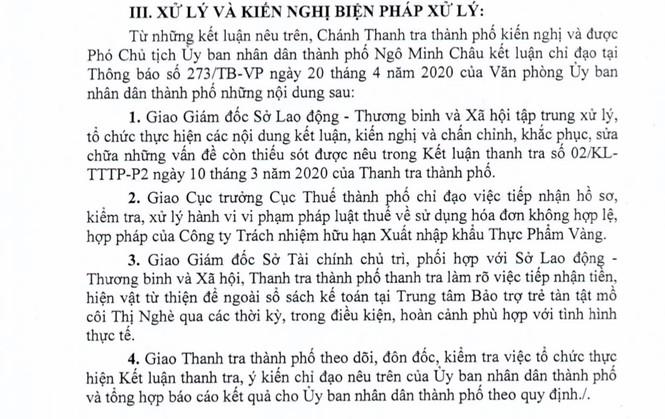 Trung tâm Thị Nghè chia chác 760 triệu đồng tiền từ thiện cho cán bộ - Ảnh 2.