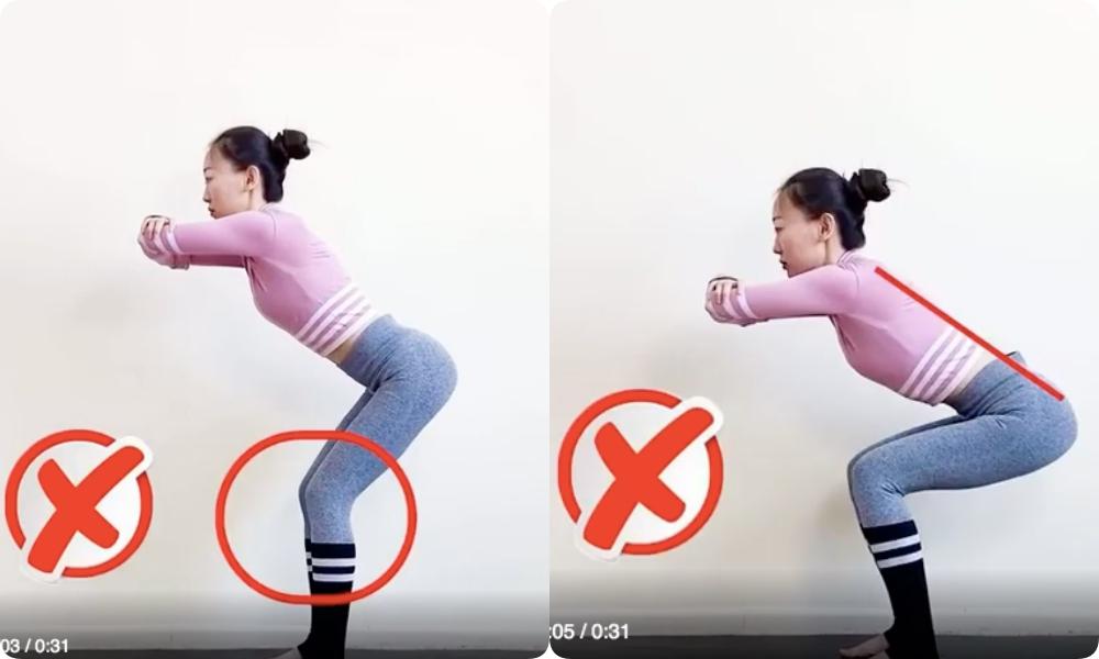 """Nếu tập squat mà mông chả thấy đâu, đùi lại cứ """"to phạc"""" thì chắc chắn chị em đã mắc phải lỗi sai cơ bản này - Ảnh 2."""