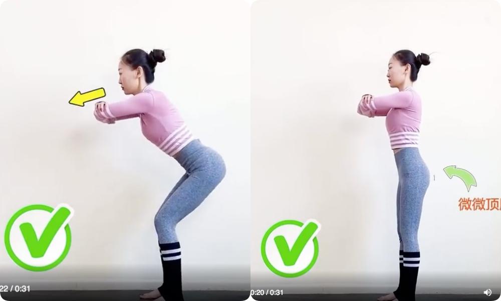 """Nếu tập squat mà mông chả thấy đâu, đùi lại cứ """"to phạc"""" thì chắc chắn chị em đã mắc phải lỗi sai cơ bản này - Ảnh 6."""