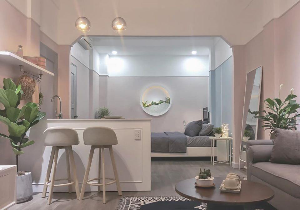 3 tuần hô biến căn hộ chung cư cũ 70m2 ở Sài Gòn thành 2 căn hộ đẹp tối giản với chi phí chỉ 270 triệu đồng - Ảnh 21.