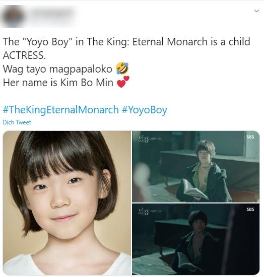 """Sau phim của Kim Tae Hee, tới lượt """"Quân vương bất diệt"""" cho """"chuyển giới"""" diễn viên nhí để đóng với Lee Min Ho - Kim Go Eun - Ảnh 2."""