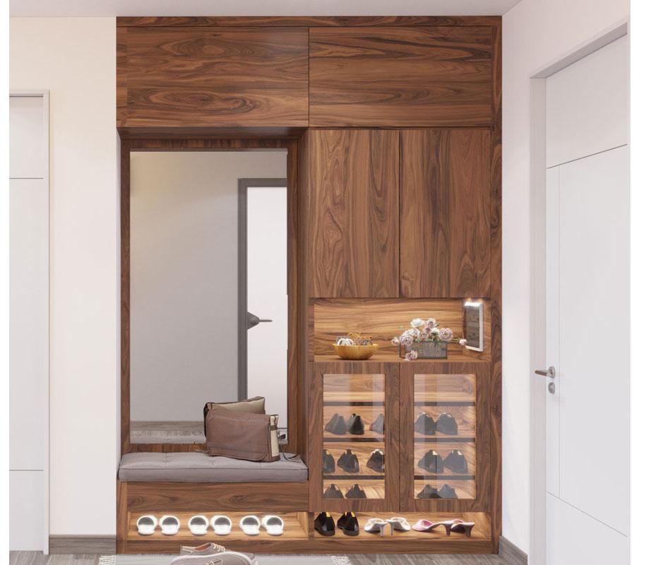 Tư vấn thiết kế nội thất căn hộ chung cư 100m² ở Bình Dương theo phong cách hiện đại, tối giản với chi phí 78 triệu - Ảnh 4.