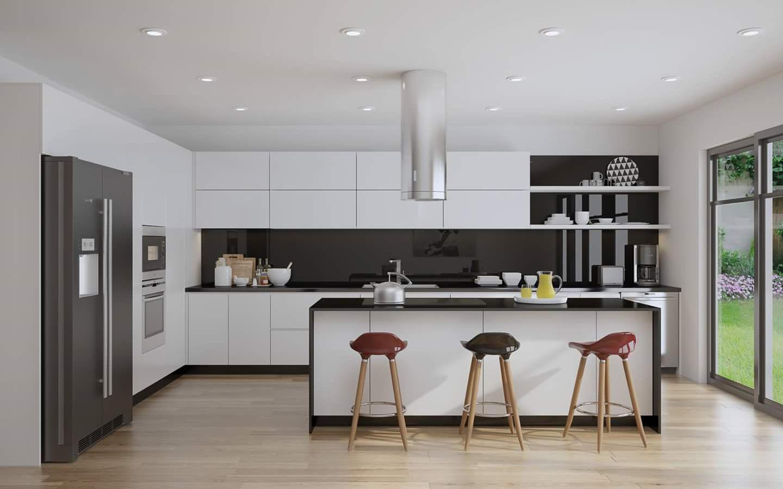 Tư vấn thiết kế nội thất căn hộ chung cư 100m² theo phong cách hiện đại, tối giản với chi phí 78 triệu
