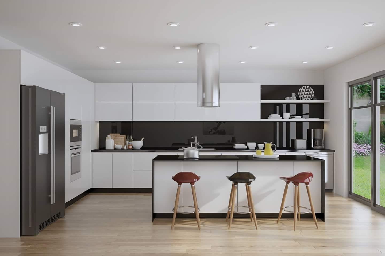 Tư vấn thiết kế nội thất căn hộ chung cư 100m² ở Bình Dương theo phong cách hiện đại, tối giản với chi phí 78 triệu - Ảnh 5.