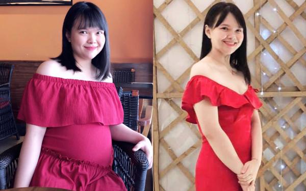 Lên bàn đẻ nặng 81kg, bí quyết để mẹ trẻ sinh xong một tháng đã giảm gần 20kg