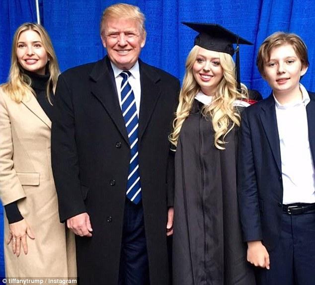 Tiffany Trump vui mừng thông báo cột mốc quan trọng của đời mình nhưng phản ứng khác lạ của Tổng thống Mỹ với con gái gây chú ý hơn cả - Ảnh 4.