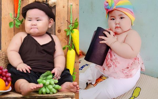 Bé gái ở Long An gần 1 tuổi nặng 19kg: Món ăn khoái khẩu là rau quả và cá