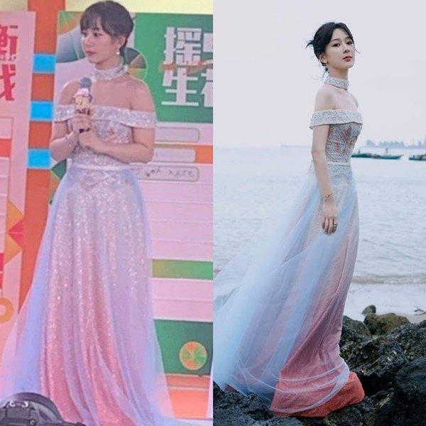 """Cố chấp diện váy trễ vai, Dương Tử lại thành """"trò cười cho thiên hạ"""" khi bị bóc chi tiết đáng ngờ trong quảng cáo mới - Ảnh 1."""