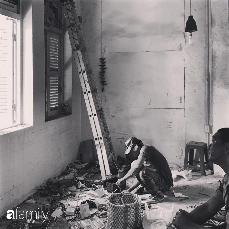 Cải tạo lại nhà kho thiết bị thành không gian sống hiện đại vạn người mê, chàng trai trẻ ở Sài Gòn chỉ tốn chi phí chưa tới 40 triệu - Ảnh 3.