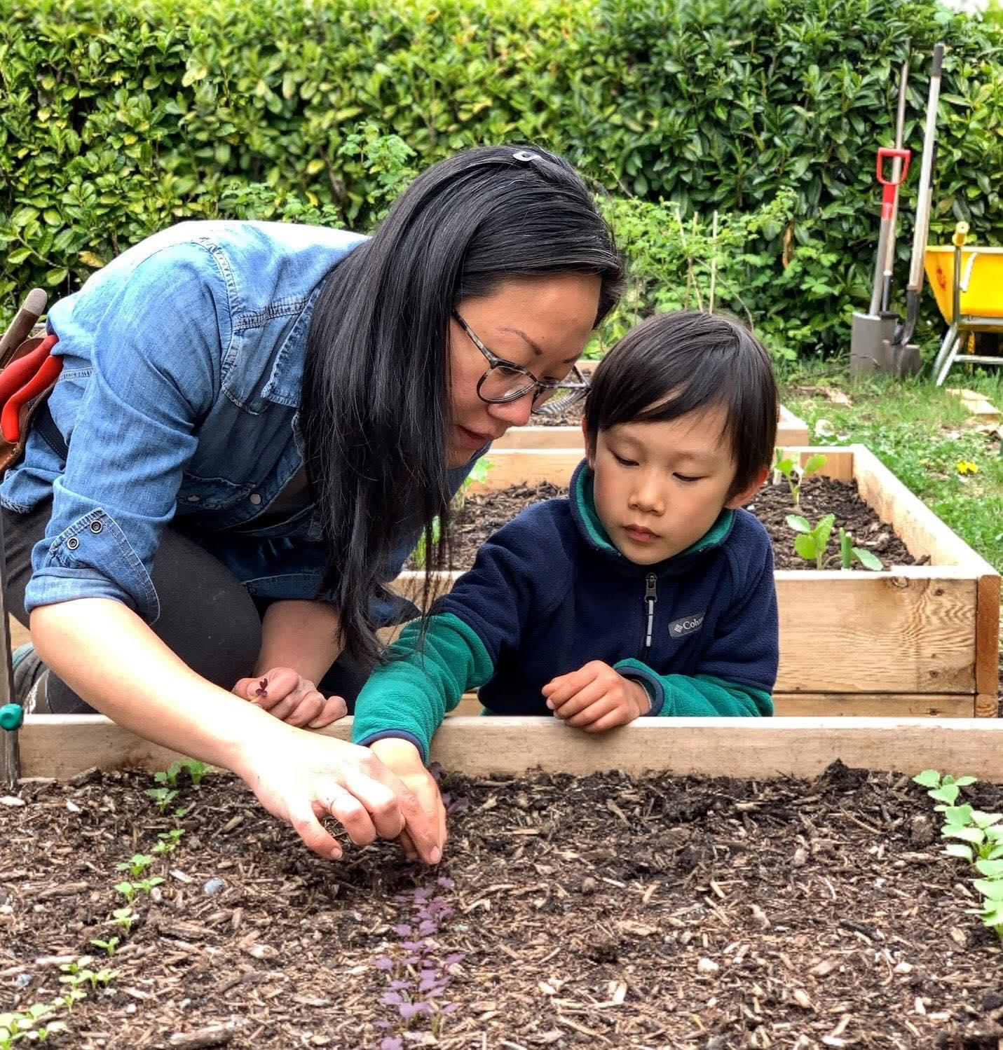 Người mẹ trẻ học cách trồng thực phẩm sạch tại nhà từ khi có dịch Covid 19 - Ảnh 3.