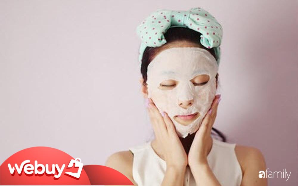 Chỉ chưa đến 30k cho những miếng mặt nạ này chị em có thể lại dịu da mặt ngay lập tức sau khi đi ngoài nắng về