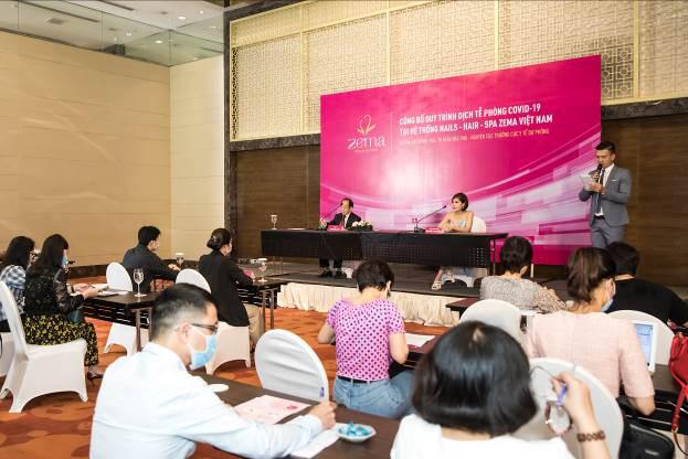 Zema Việt Nam chính thức họp báo giới thiệu quy trình phòng dịch tễ theo hướng dẫn Bộ y tế vào chăm sóc sắc đẹp - Ảnh 1.