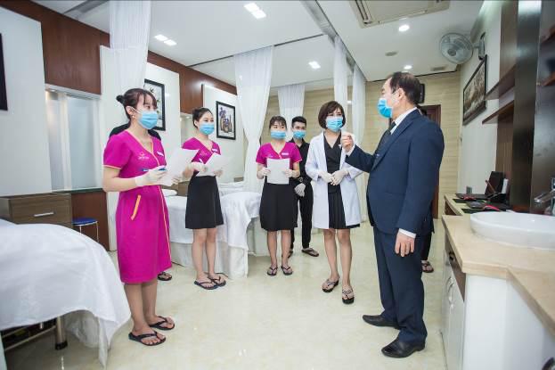 Zema Việt Nam chính thức họp báo giới thiệu quy trình phòng dịch tễ theo hướng dẫn Bộ y tế vào chăm sóc sắc đẹp - Ảnh 2.