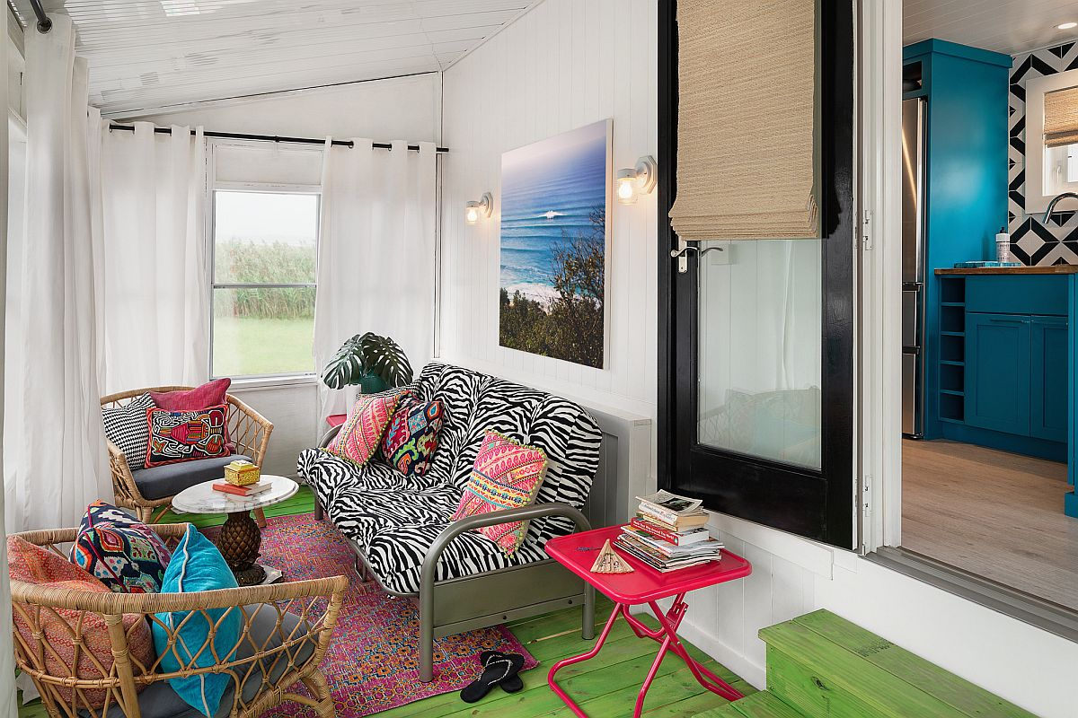 Sắc màu tạo sức sống cho căn phòng hứng nắng đón mùa hè - Ảnh 2.