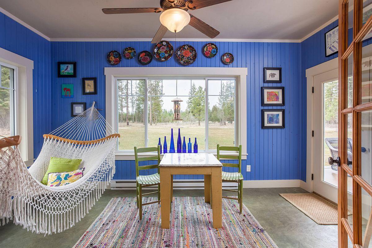 Sắc màu tạo sức sống cho căn phòng hứng nắng đón mùa hè - Ảnh 8.