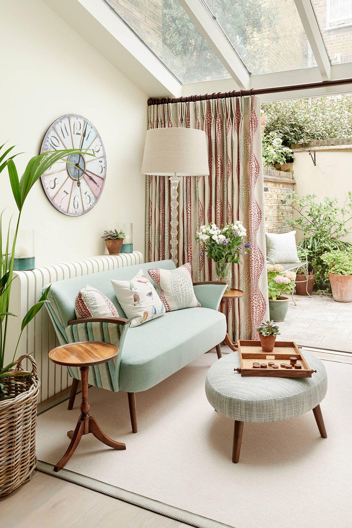 Sắc màu tạo sức sống cho căn phòng hứng nắng đón mùa hè - Ảnh 10.