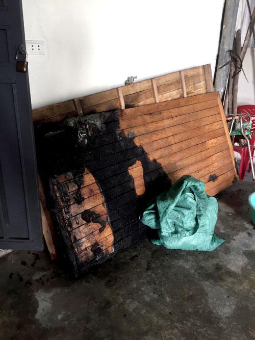 Hà Tĩnh: Cháy phòng ngủ lúc nửa đêm, 4 người trong một gia đình bị bỏng nặng - Ảnh 2.