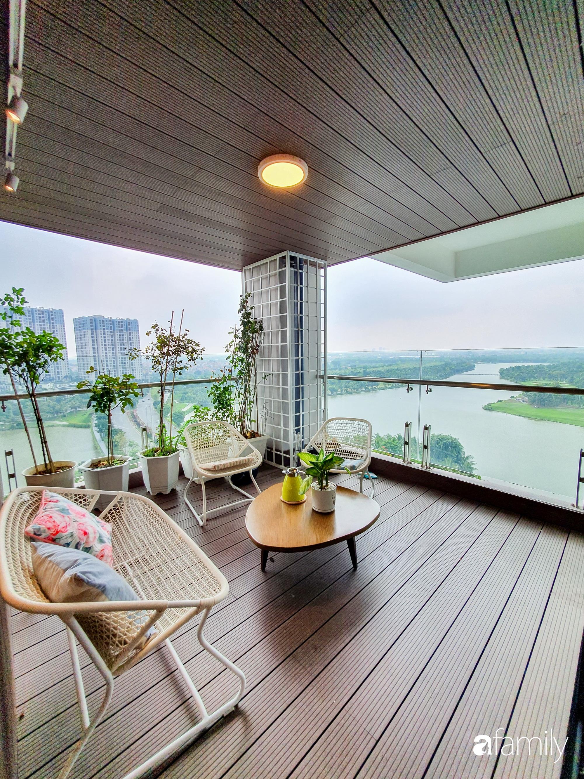 """Căn hộ 150m² có view đắt giá cùng cách thiết kế nội thất """"chanh xả"""" với chi phí khủng 850 triệu đồng ở ngoại thành Hà Nội - Ảnh 9."""