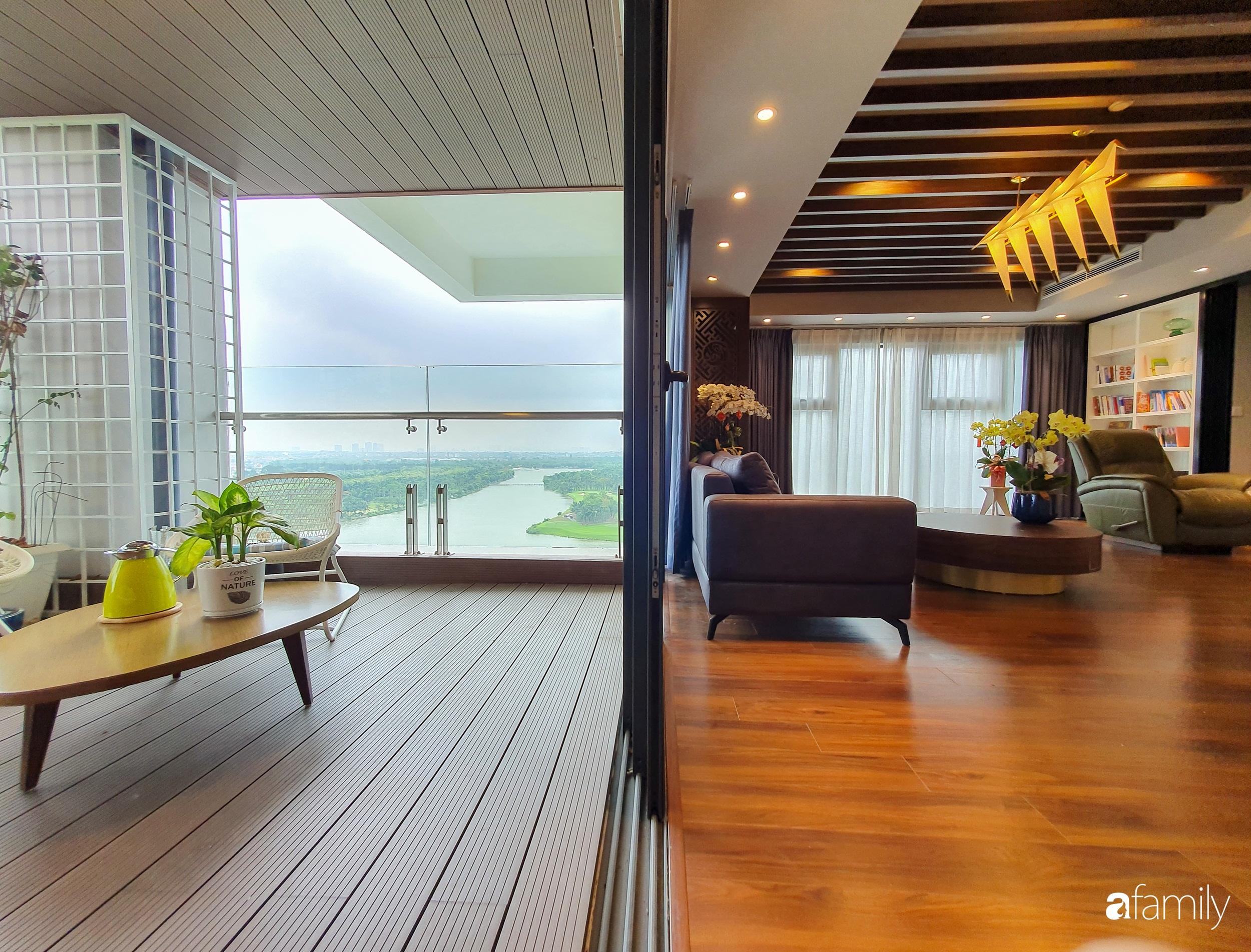 """Căn hộ 150m² có view đắt giá cùng cách thiết kế nội thất """"chanh xả"""" với chi phí khủng 850 triệu đồng ở ngoại thành Hà Nội - Ảnh 8."""